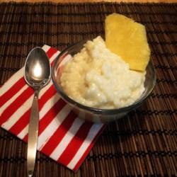 kozys creamy coconut rice pudding printer friendly