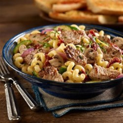 Italian Stir Fried Pork & Pasta