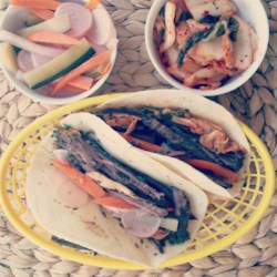 Simple Slow-Cooked Korean Beef Soft Tacos Recipe