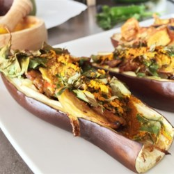Indian Stuffed Eggplant Recipe