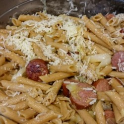 Cabbage and Smoked Sausage Pasta Recipe