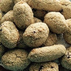 Aunt Anne's Sesame Cookies Recipe