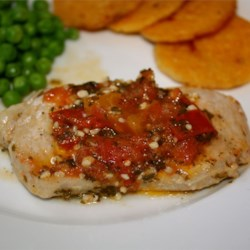 Spicy Italian Pork Cutlets Recipe