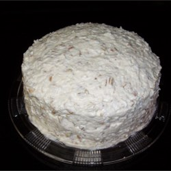 Banana Nut Coconut Cake Recipe