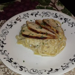 Lighter Spaghetti Alfredo with Cauliflower Recipe