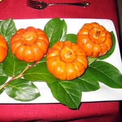 Baked Miniature Pumpkins Recipe