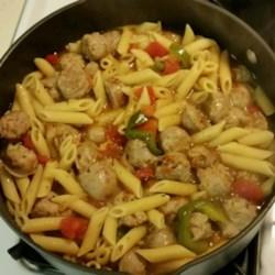 Bowties and Italian Sausage Recipe