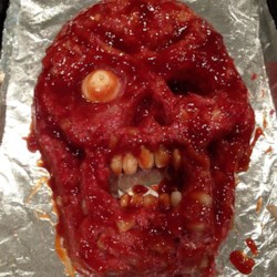 Halloween Zombie Meatloaf