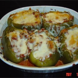 Stuffed Green Peppers II Recipe
