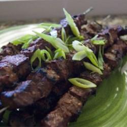 Beef Yakitori Recipe