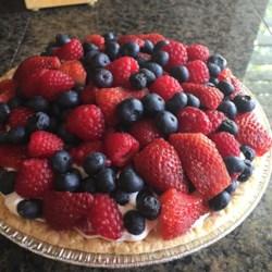Fruit and Cream Pie I Recipe