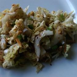 Chinese Napa Cabbage Salad Recipe