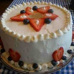 4th of July Cake- Angel Food Cake II