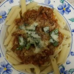 Mom's Spaghetti Bolognese Recipe