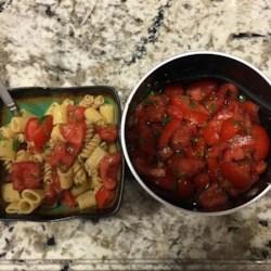 Light Southwestern Tomato Pasta Recipe