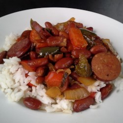 Richard and Suzanne's Famous Red Beans and Sausage Recipe