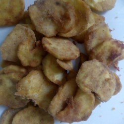 Fried Cinnamon Sweet Potato Chips Recipe