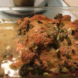 Cheesy Chicken Broccoli Bake Recipe