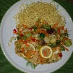 Healthier Easy Baked Tilapia Recipe