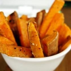 Baked Sweet Potatoes with Honey and Ginger