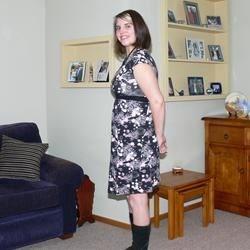 Me at 14 weeks pregnant.