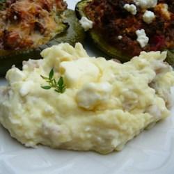 Feta Mashed Potatoes Recipe