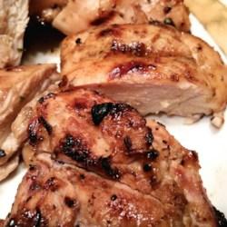 Grilled Honey-Lemon Chicken Recipe