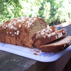 Oatmeal Banana Nut Bread Recipe