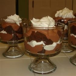 Individual Chocolate Trifles