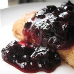 Photo of Blueberry Sauce by ISYBEL
