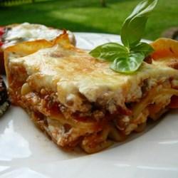 grandmas best ever sour cream lasagna recipe allrecipes com