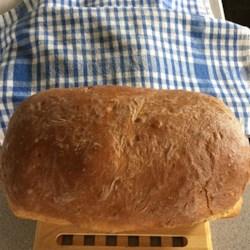 Bread Machine Honey-Oat-Wheat Bread  Recipe