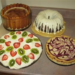The Thanksgiving desserts I made for my family :)