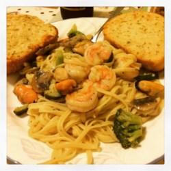 Lemon Pepper Pasta Seafood Recipe