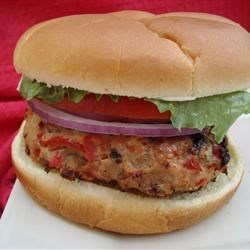 Grilled Chicken Burgers Recipe