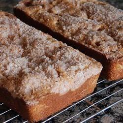 Photo of Streusel Rhubarb Bread by Irene  Sankey