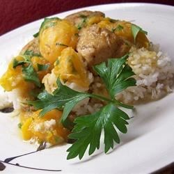 Apricot Chicken with Balsamic Vinegar Recipe