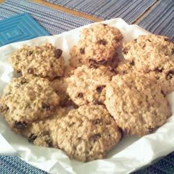 My oatmeal raisin cookies