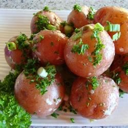 New Potatoes with Caper Sauce Recipe