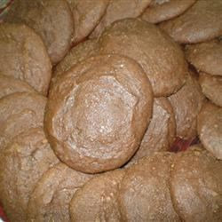 Applesauce Cocoa Cookies Recipe