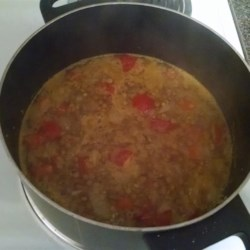 Egyptian Lentil Soup Recipe