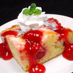Cherry Almond Coffeecake Recipe