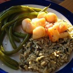 Honey Glazed Scallops Recipe