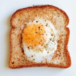 egg in a hole printer friendly