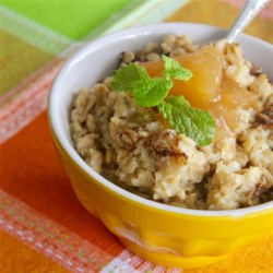 Baked Oatmeal with Cinnamon