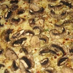 allies mushroom pizza photos