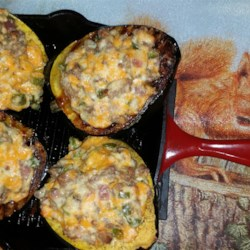Squasage (Sausage-stuffed Squash) Recipe