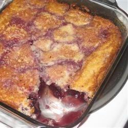 Carolyn's Oh-So-Easy Cherry Cobbler Recipe