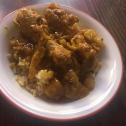 West Indian Curried Chicken Recipe