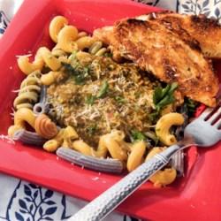 Three Pepper Pesto Recipe